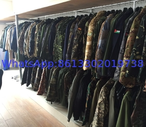 Military Uniform sample room
