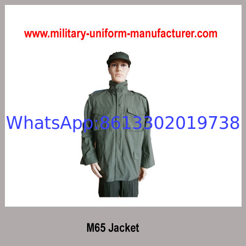 Army Olive Green NC Waterproof M65 Parka Jacket with liner for Police Wear