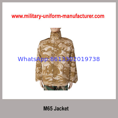 Army Desert Camouflage CVC Combat Jacket For Military training